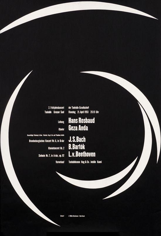 Rosbaud, Anda - April 21, 1953 by Muller-Brockmann, Josef | International Poster Gallery