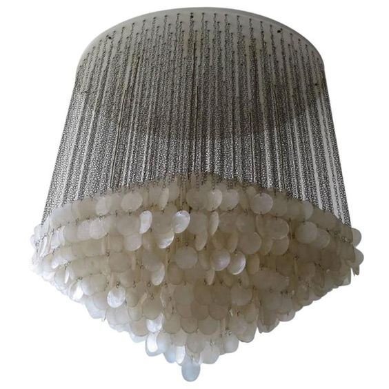 Valaisin Grönlund | Verner Panton Lamps | Chrome pendant