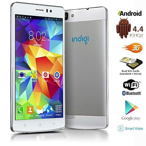 Sale Preis: Indigi® GSM Unlocked 5.5-inch 3G Speed DualSim Android 4.4 Smart Cell Phone AT&T T-Mobile Straight Talk (White). Gutscheine & Coole Geschenke für Frauen, Männer & Freunde. Kaufen auf http://coolegeschenkideen.de/indigi-gsm-unlocked-5-5-inch-3g-speed-dualsim-android-4-4-smart-cell-phone-att-t-mobile-straight-talk-white