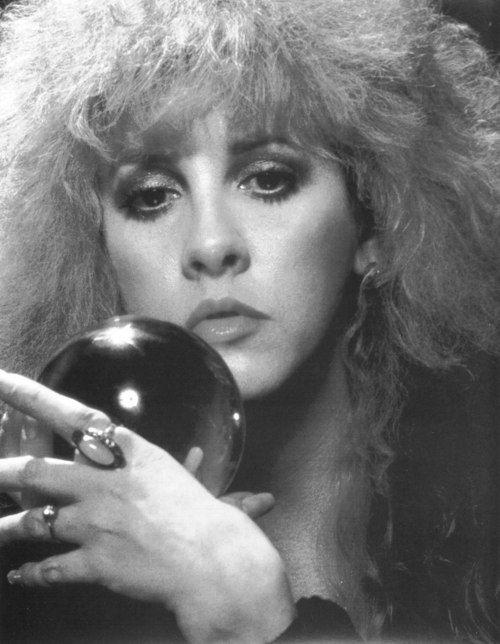 Stevie Nicks in all her mystical glory.