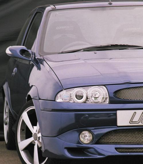 Ultimate Styling Ford Fiesta Mk4 96 99 Chrome Twin Angel Eye On