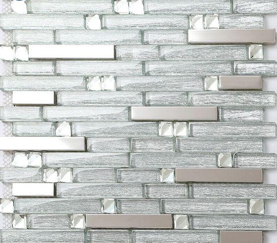 wall tiles steel metal kitchens steel wall tiles glass tile backsplash