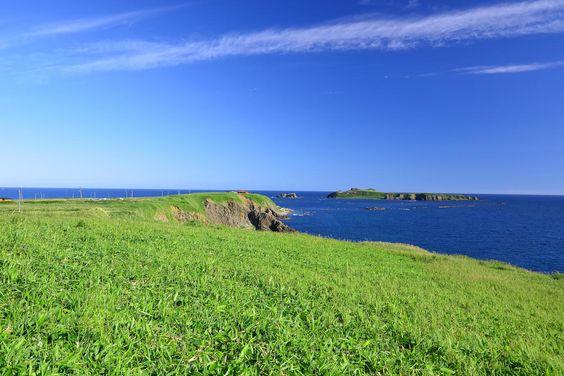 礼文島  スコトン岬とトド島