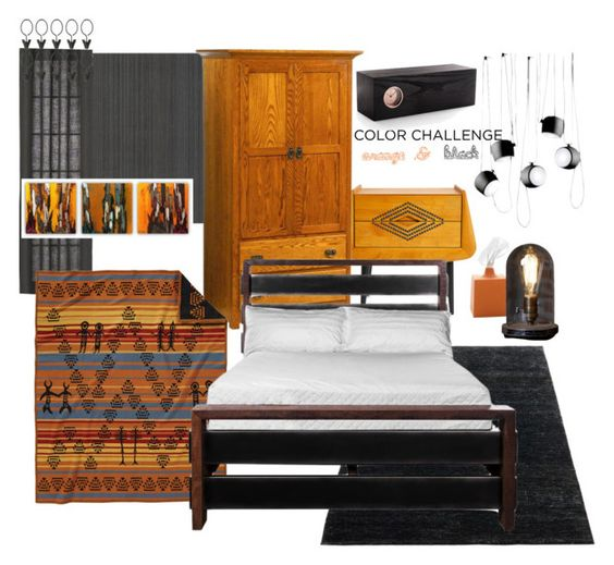 """""""Manly space"""" by memyselfeye ❤ liked on Polyvore featuring interior, interiors, interior design, home, home decor, interior decorating, Jonathan Adler, DutchCrafters, Dot & Bo and CB2"""