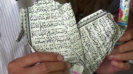 Berobat Dengan kertas-kertas Yang Bertuliskan Ayat-ayat Al-Quran, BAGAIMANA ?