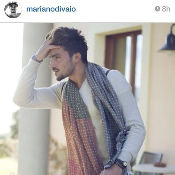 ...thanks to @marianodivaio wearing @fefeglamour butterfly scarf tube... #fefeglamour #scarves #scarf #butterfly #love#madeinitaly #italianstyle #like #gentlemen #dandy
