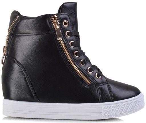 Sneakersy Koturn Botki Obcas Koturny Kolor 9604739892 Allegro Pl In 2020 Allegro