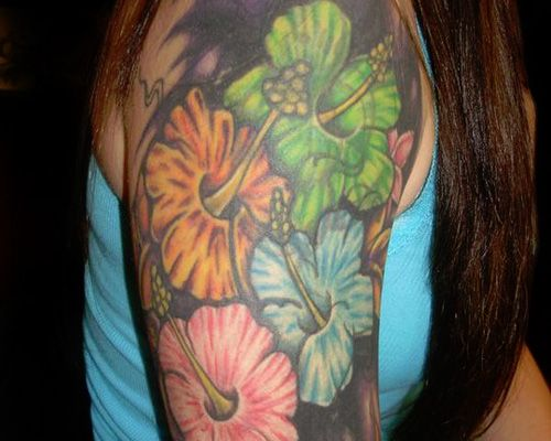 Arm Flowers Cover