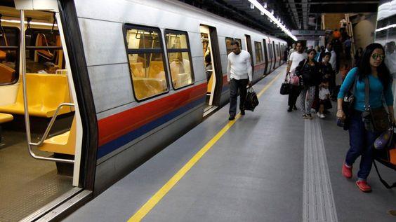 Metro de Caracas desalojó tren en estación Plaza Venezuela - globovision.com