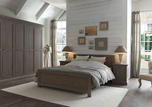 Landelijke slaapkamer - slaapkamer | Pinterest - Rustieke ...
