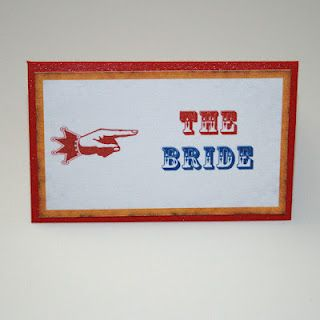 Carnival place card