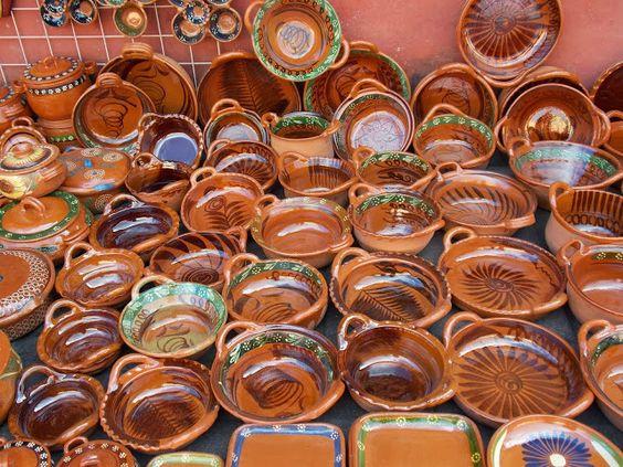 Cazuelas de barro tlayacapan mor m x i co - Cazuelas de cobre ...