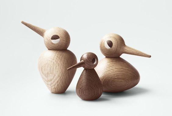 The Birds von Architectmade und dem dänischen Designer Kristian Vedel. Stellt Euch eure eigene Vogelfamilie zusammen. #danishdesign #design #birds