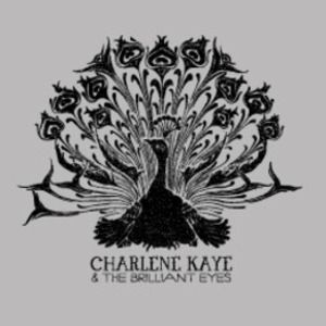 Charlene Kaye and the Brilliant Eyes Grey Peacock T-Shirt #charlenekaye