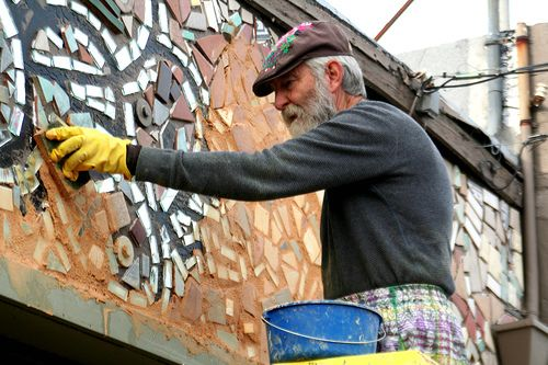 Isaiah Zagar: Crazy Mosaic, Occasional Studio, Mosaic Arts, Artist Absent, Specialty Workspaces Studios, Artists Craftspeople