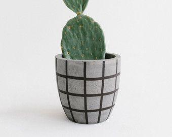 Hanging Concrete Planter / Planter / Pot Plant / by foxandramona