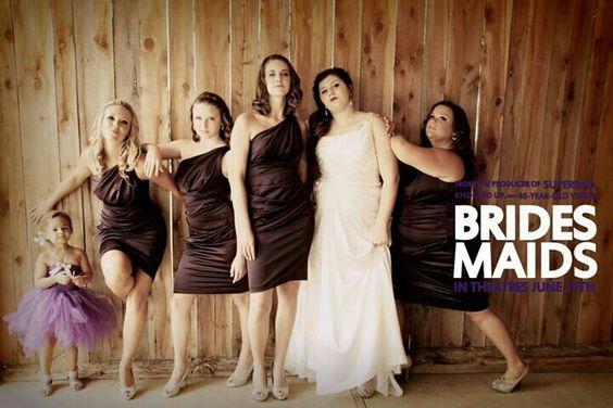 Bridesmaids cover re-do shot