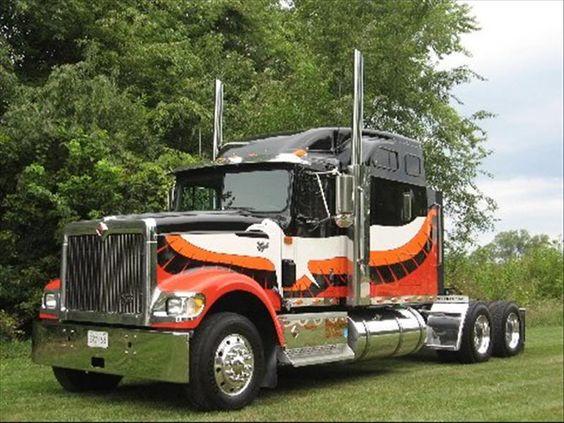 International 4300 Tractor : International tractors midnight eagle ih trucks