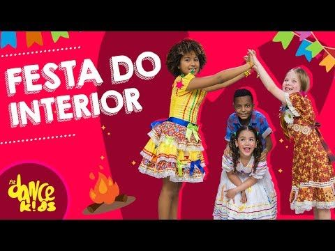 Festa Do Interior Xuxa Coreografia Fitdance Kids Youtube