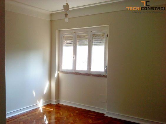 Projecto 203 remodela o de apartamento pinturas for Pintura de paredes interiores
