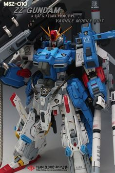 1/72 Full Armor ZZ Gundam - Customized Build