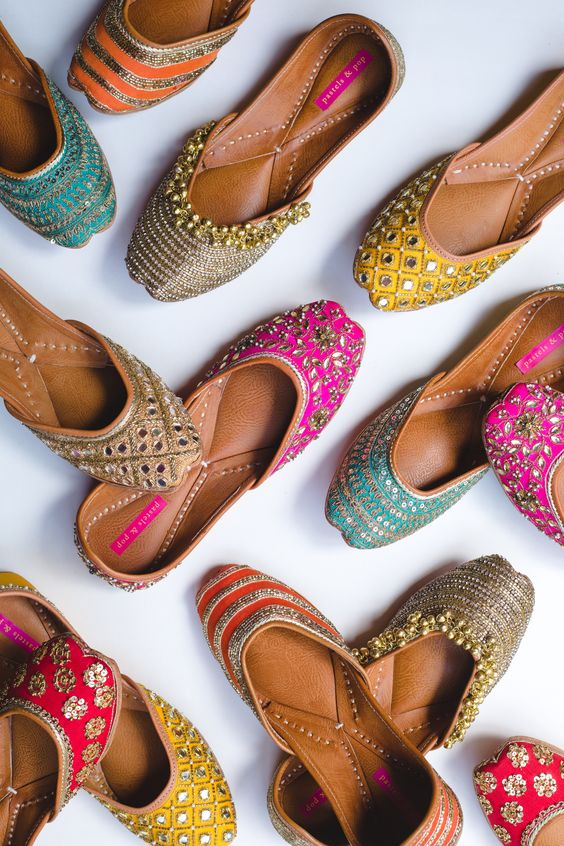 A festive season must-have - handcrafted shoes by Pastels and Pop!