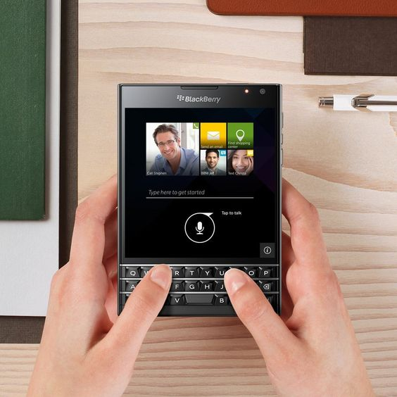 The BlackBerry Passport,  a Revolutionary Smartphone