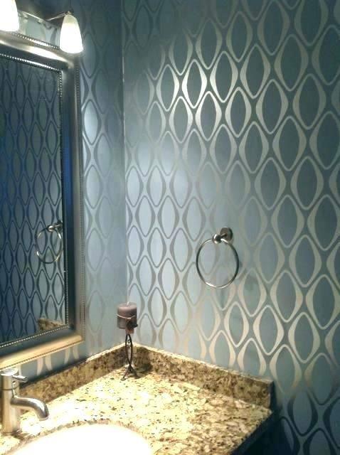 82 Best Wallpaper For Bathrooms Bathroom Design Small Bathroom Wallpaper Small Bathroom Wallpaper