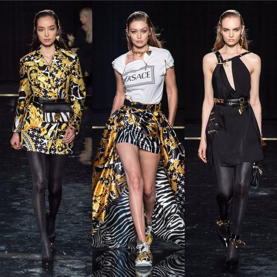 O Pre-Fall 2019 da Versace em Nova York! - Passarelando