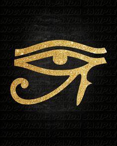 Egyptian Egyptian Art Eye of Horus Egyptian by NocturnalPandie: