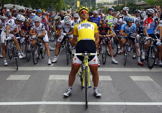 2009 Yellow jersey stage 6 Fabian Cancellara