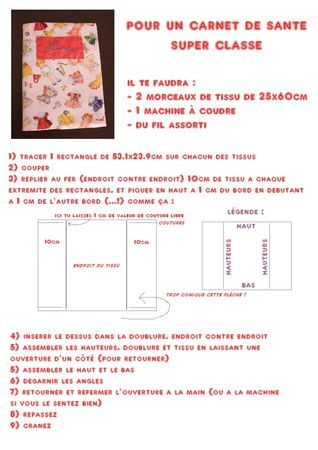 tuto prot ge carnet de sant petites choses offrir aux b b s pinterest couture and diy. Black Bedroom Furniture Sets. Home Design Ideas