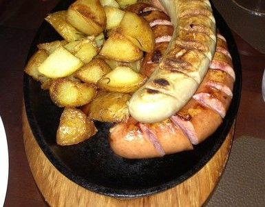 Mix de salsinhas com batata com alegrim!