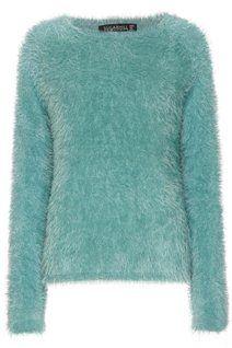 Fluffy Sweater - Green