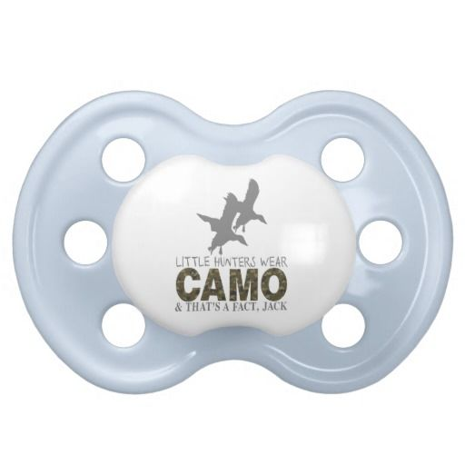 LITTLE HUNTERS BABY PACIFIER