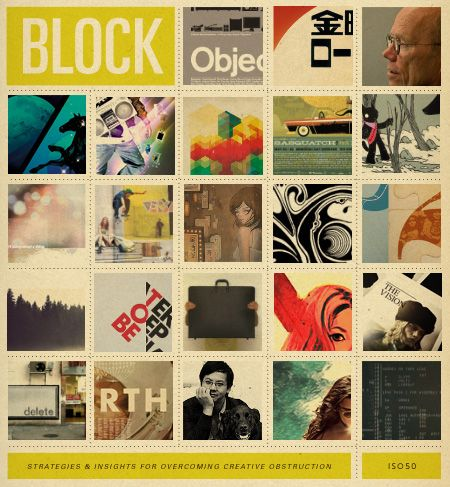 25 inspiring artists share their methods of getting over creative blocks.