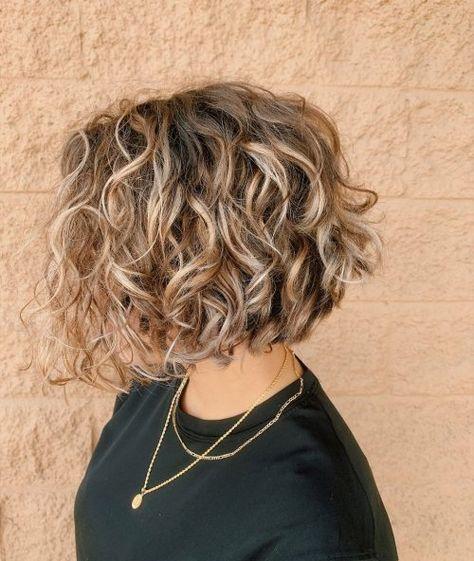 30++ Short curly layered bob hairstyles ideas