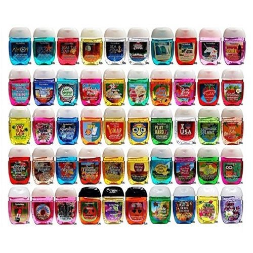 Bath Body Works Assorted Pocketbac Anti Bacterial Hand Sanitizer