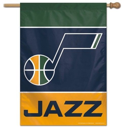 Utah Jazz Flag Vertical House Banner Utah Jazz Utah Jazz