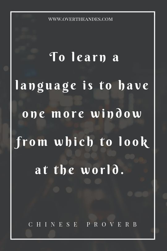 42 Awesome Inspirational Quotes For Language Learners The Intrepid Guide Language Quotes Foreign Language Quotes Bilingual Quotes