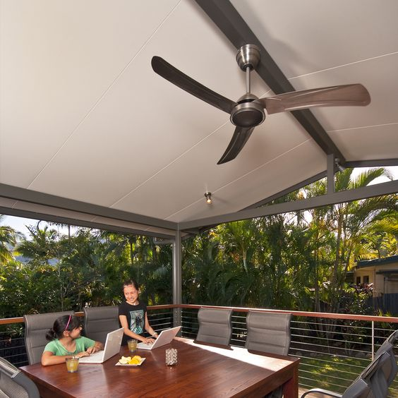 Solarspan Insulated Patio Roof Showing The Ceiling Finish