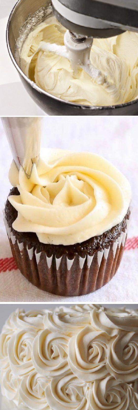 Cómo Hacer Crema De Mantequilla Ideal Para Cubrir Y Rellenar Postres Cremademantequilla Cupcake Crema De Mantequilla Cremas Dulces Crema De Manteca Receta