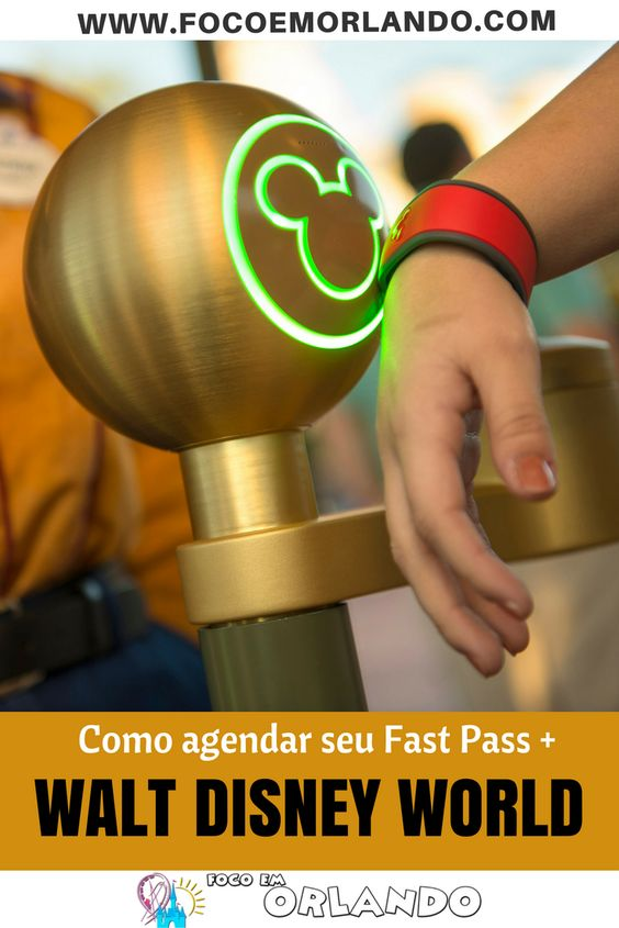 Como agendar seu Fast Pass Plus para o Walt Disney World pelo site