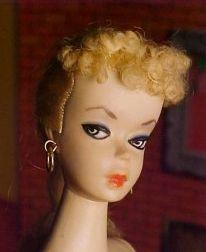 #1 Barbie Blonde Ponytail
