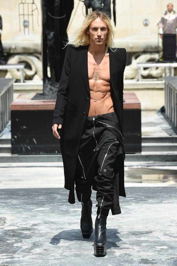 Rick Owens | Menswear - Spring 2020 | Look 1