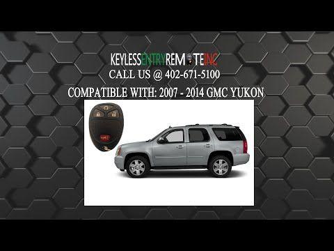 How To Change A 2007 2014 Gmc Yukon Key Fob Battery Key Fob