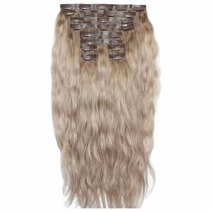 Beauty Works 22 Inch Beach Wave Double Hair Extension Set Various Shades Scandinavian Blonde In 2020