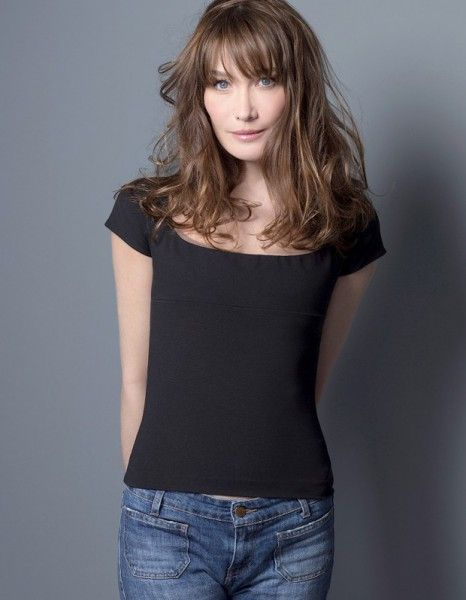 Carla Bruni by Kate Barry