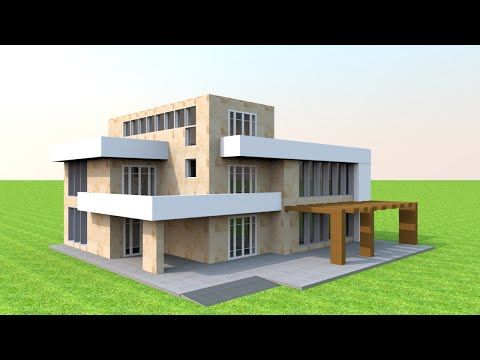 Ultra Modern House Model Making In Sweet Home 3d Speed Build