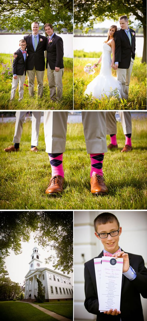 preppy navy and pink country club wedding 3, real weddings ideas and trends